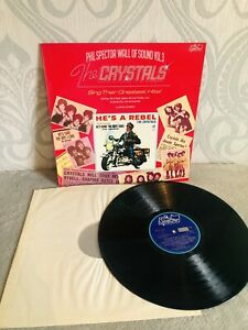 Phil Spector Wall Of Sound Vol 3. The Crystals Sing Their Greatest Hits!  Vinyl