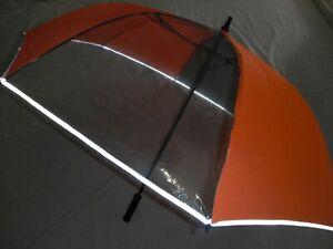 Shelta HI-VIZ Safety Golf Umbrella  –  Fibreglass Auto