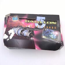 Vtg 1996 1 Pound Box Lot of Babylon 5 Trading Cards - Coming of Shadows