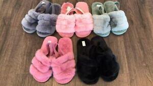 Women Winter Slippers | Soft Memory Foam | Faux Fur Lined | Super Comfy