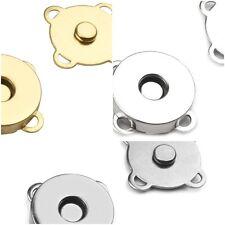 1Stk//0,75€ 2 Stk Magnetverschluß Druckknopf Magnetknopf Verschluß 1158