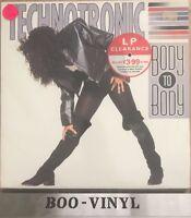 Technotronic Body To Body LP Album Vinyl Record 468342 A1/B1 Dance 90's Ex Con