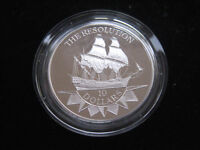 """MDS NIUE 10 DOLLARS 1992 PP / PROOF """"THE RESOLUTION"""", SILBER  #7"""
