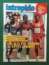 Rivista INTREPIDO n.33/1984 (ITA) MENNEA VESPA PIAGGIO I.CATTANEO WILKINS BERTE'