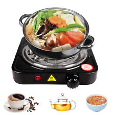 Portable Kitchen Electric Single Burner Hot Plate Cooktop Dorm Countertop Stove
