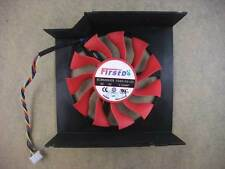75mm VGA Video Card Fan For MSI R7950  4Pin 0.50A FD8015U12S  278-1
