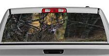 Truck Rear Window Decal Graphic [Deer / Undercover] 20x65in DC67803