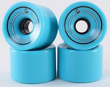 76mm 78a Gel Soft Longboard Wheels (Sky Blue)