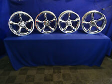 "2005 06 07 08 2009 Mustang Saleen Staggered 19"" Wheels 5x114.3 Chrome Heritage"