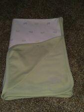 Vintage Gymboree Baby Blanket Scottie Doggy Cotton Unisex 2001Dog Security