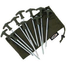 BIVVY PEGS HEAVY DUTY FOR FISHING CAMPING BROLLEY UMBRELLA TENT X 10 NGT