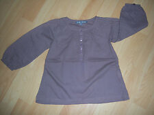 Blouse tunique marron fille 3 ANS, TTBE