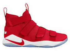 Nike Lebron Soldier XI 11 TB Team Red Basketball (943155-603) Men's Size 15.5