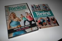 The Toning Transformation Workout (2 DVD Set NEW) Sarah Kusch Prevention Fitness
