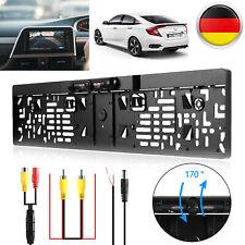 170° IR LED Rückfahrkamera Nachtsicht Kennzeichen Nummernschild Einparkhilfe DHL