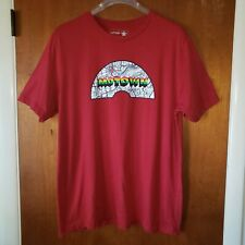 Motown Detroit Graphic T-shirt Mens Size 2XL   FAST FREE SHIPPING!!