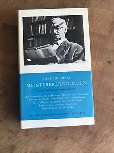 Hermann Hesse - Meisterzählungen / Manesse Bibliothek