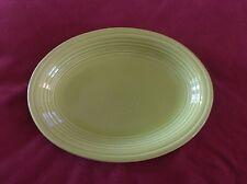 Fiesta® Dinner Ware, Smaller  Oval Serving Platter, Lemongrass green,  EUC