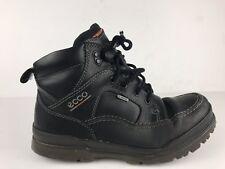 ECCO - Men's Track VI 6 GTX GoreTex Black Leather Boots EUR 40 / US 6