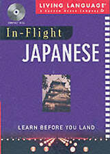 USED (VG) In-Flight Japanese: Learn Before You Land by Living Language