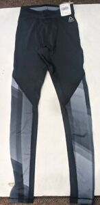 Reebok Women's Reflective Ost Comp Tights NWT SMALL