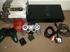 Sony Playstation Two PS2 Console Bundle Jaguar Controller FAT