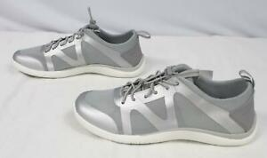 Lands' End Women's Lace Up Water Shoes BF5 Grey 508511 Size US:6.5 UK:4.5