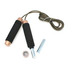 Professional Training Weighted Jump Rope Adjustable Crossfit Speed Skipping Rope