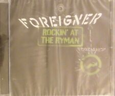 FOREIGNER Rockin' At The Ryman Greatest Hits Live from Nashville CD 2012 SEALED*