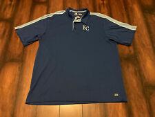 Authentic MLB Kansas City Royals TX3 Cool Polo Shirt With Team Logo Size 2XL XXL