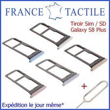 Tiroir Sim Carte Micro SD Mémoire Samsung Galaxy S8 Plus SM-G955F + Ejecteur