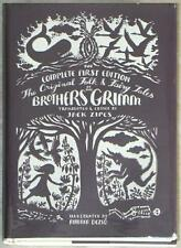 COMPLETE BROTHERS GRIMM ~ ORIGINAL FOLK & FAIRY TALES ~ ILLUSTRATED HARDCOVER