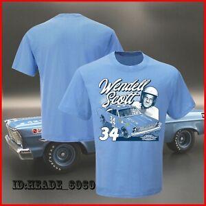 NEW! Wendell Scott Hendrick Motorsports Team Collection Graphic 1-Spot T-Shirt