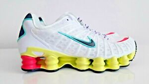 Nike Shox TL White Multi-Color AR3566-102 Womens Running Shoes Size us7.5- us8.5