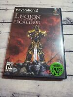 Legion The Legend of Excalibur ps2 Playstation 2 - Complete Former Blockbuster