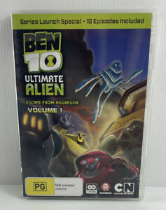 Ben 10 Ultimate Alien Vol 1 DVD (PAL, 2010, 2 Disc) Free Tracked Postage