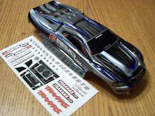 Traxxas 7107 1/16 VXL Brushless E-revo Silver Blue Black ProGraphix Body & Decal