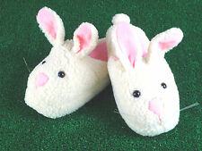 Men's Bunny Slippers - Adult Large - Fits Sizes 8.5 - 11.5