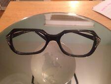Vintage Lozza Glasses Frames- Very Cool & Rare! Black rimmed made in Italy Tart