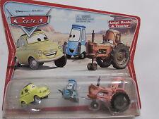 DISNEY PIXAR CARS LUIGI, GUIDO & TRACTOR 3 CAR PACK