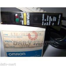 OMRON Photoelectric Switch E3X-VG21 E3XVG21 New in Box NIB Free Ship