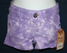 NWT Girls Shorts MUDD Choice Purple Pink Strawberry Lime Green Sizes 4 5 6 6X