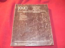 1990 Ford Aerostar Ranger Bronco II Dealer's Service Manual