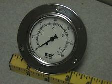 F Amp R Watts 60 Psi Panel Mount Pressure Gauge Bar 4 Pneumatic Air Commercial