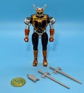 "Big Bad Beetleborgs Astral Borgs LIGHTNING BORG Complete 5"" Figure BANDAI"
