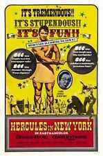 Hercules à New York Poster 02 métal signe A4 12x8 aluminium
