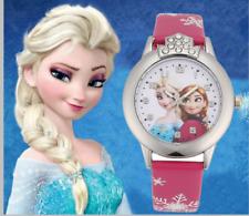 Frozen Wrist Watch Girls Princess Elsa Anna Children Kids Xmas Party Stocking·