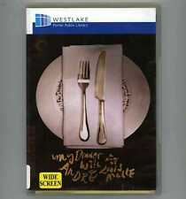 My Dinner With Andre DVD 1981 Louis Malle Film - Andre Gregory Wallace Shawn