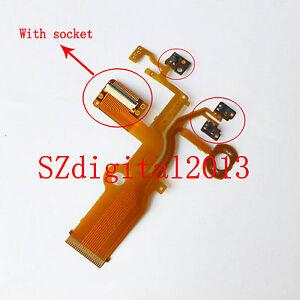 Lens Back Main Flex Cable For Panasonic DMC-ZS19 TZ27 DMC-ZS25 TZ31 With socket