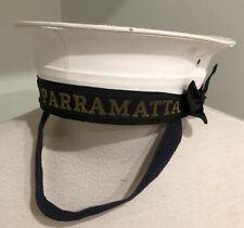 Royal Australian Navy H.M.A.S Parramatta Sailors Hat